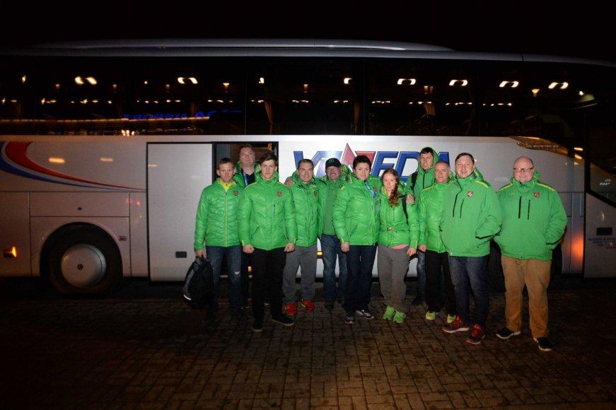 Lietuvos olimpiečiai sugrįžo namo
