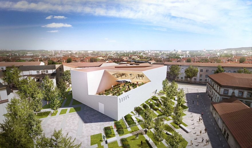 Architektas Daniel Libeskind Vilniuje pristatė Modernaus meno centro muziejaus pastato projektą