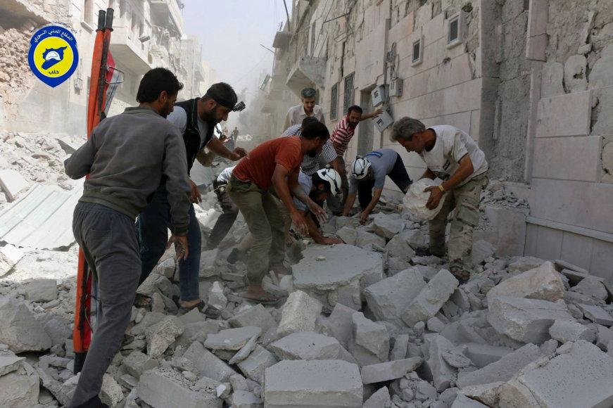 Ataka Alepo mieste