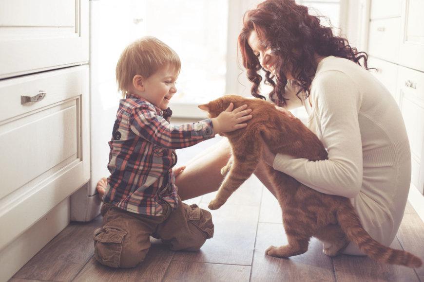 Būstą nuomojantys žmonės nepageidauja vaikų ir gyvūnų