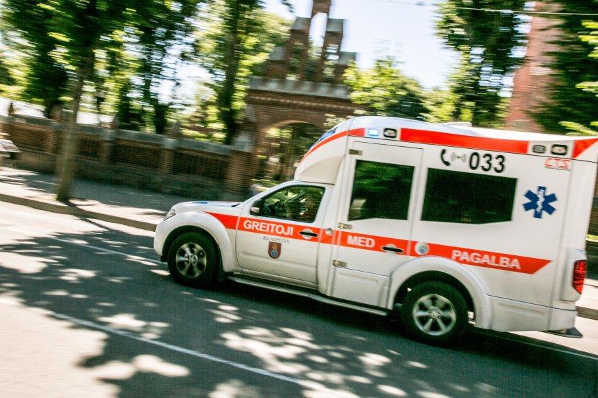 Greitosios Pagalbos automobilis Palangoje