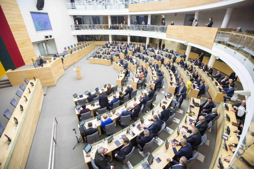 Seimo pirmininko rinkimai