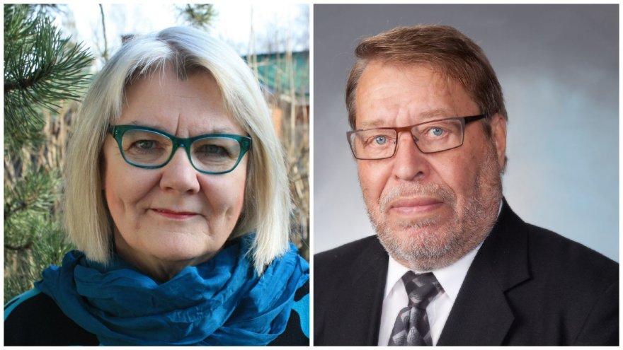 Profesorė Helena Tellervo Leino-Kilpi ir profesorius Kyosti Vilho Urponenas taps Klaipėdos universiteto garbės daktarais