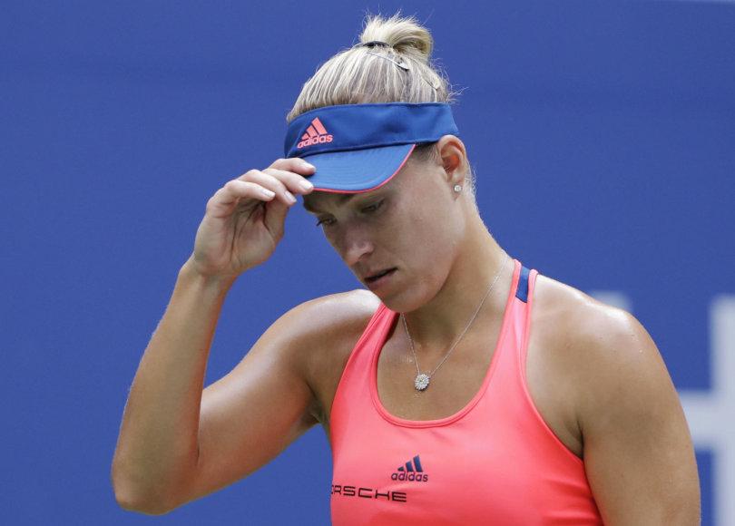 """US Open"" čempionato finalas: Angelique Kerber – Karolina Pliškova"
