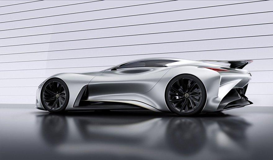 """""""Gran Turismo 6"""" žaidimui sukurtas """"Infiniti GT6"""" konceptas"""