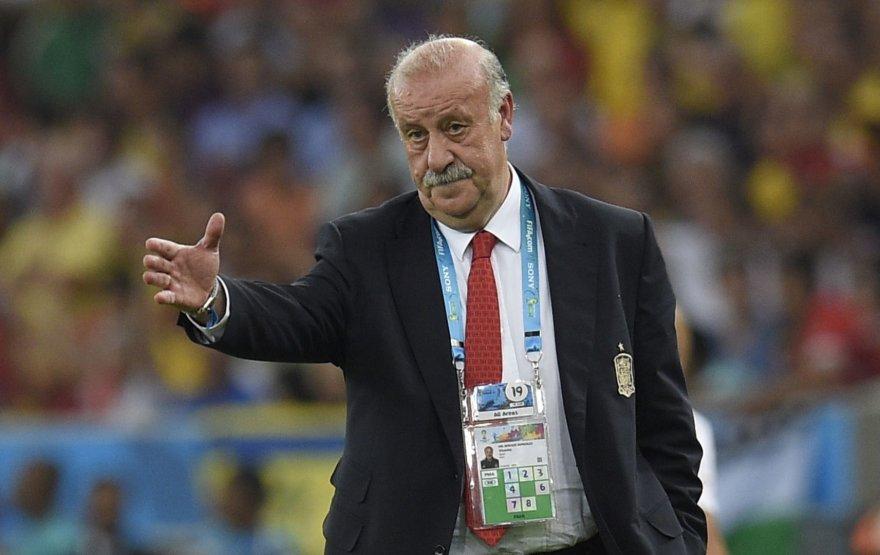 Ispanijos futbolo rinktinės treneris Vicente Del Bosque