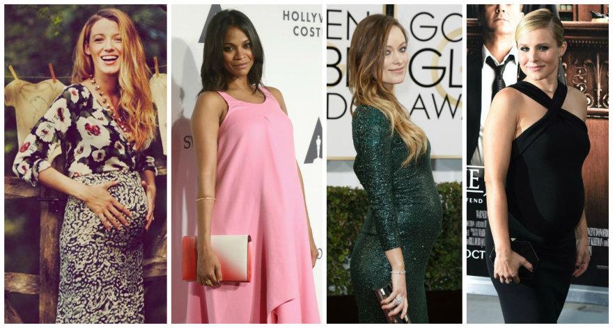 Blake Lively, Zoe Saldana, Olivia Wilde ir Kristen Bell