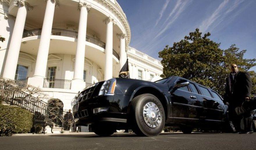 Naujasis Obamos limuzinas
