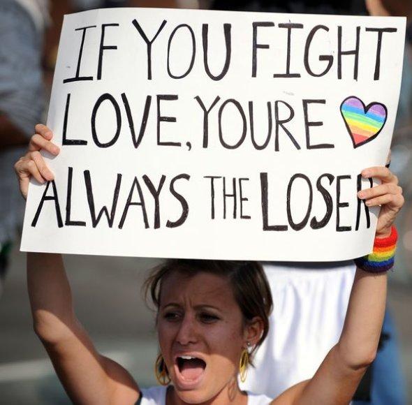Gėjų ir lesbiečių protestas