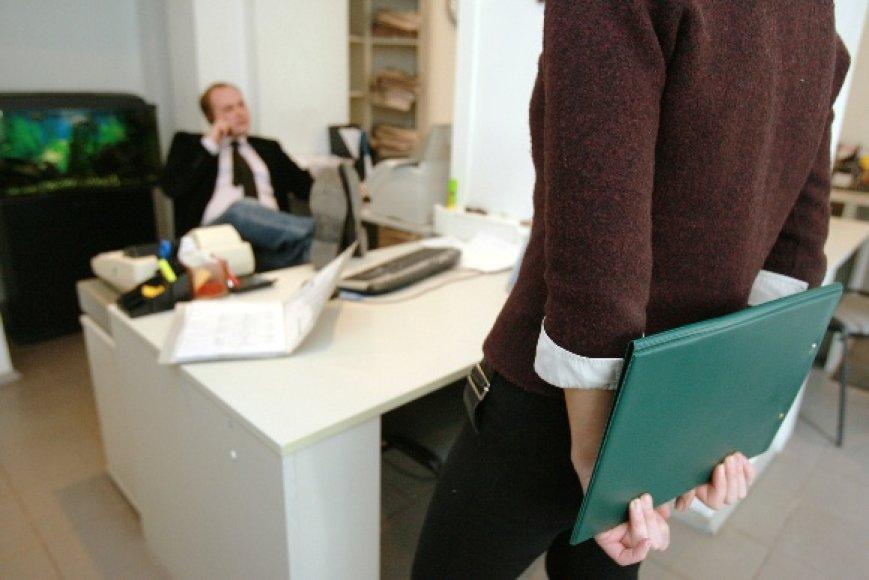 Darbdaviai per pokalbius dėl darbo ėmė jaustis padėties šeimininkais