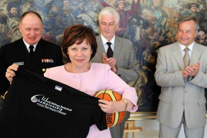 Ministrė Rasa Juknevičienė