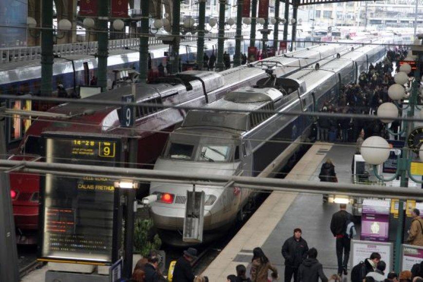 EUROSTAR traukiniai