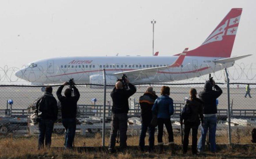 Gruzijos lėktuvas Domodedovo oro uoste