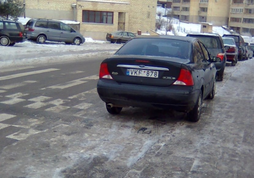 Fotopolicija. Filaretų gatvė