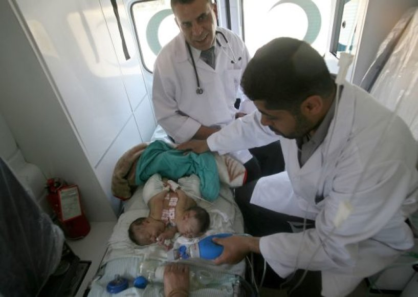 Dvynukės iš Gazos ruožo