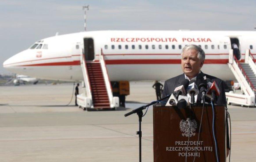 Lenkijos prezidento Lecho Kaczynskio lėktuvas