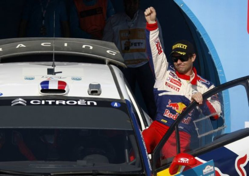 Sebastianas Loebas tapo Turkijos ralio nugalėtoju