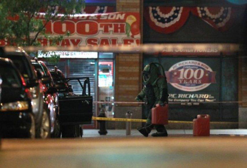 Bombos paieškos Niujorke