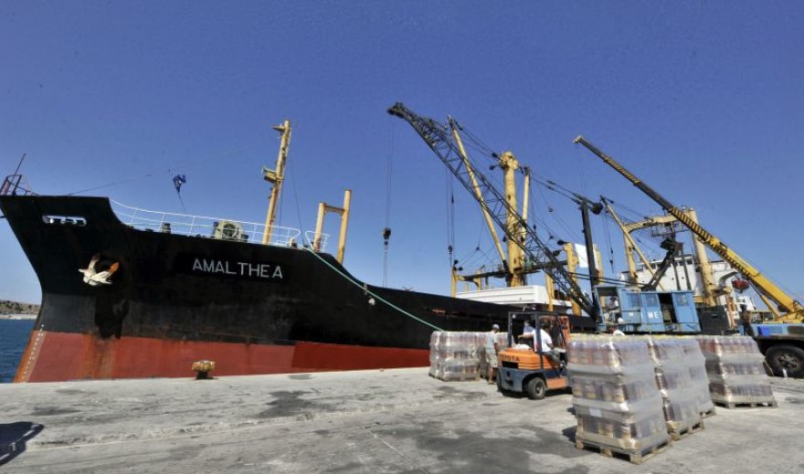 Libijos laivas pakeliui į Gazos ruožą