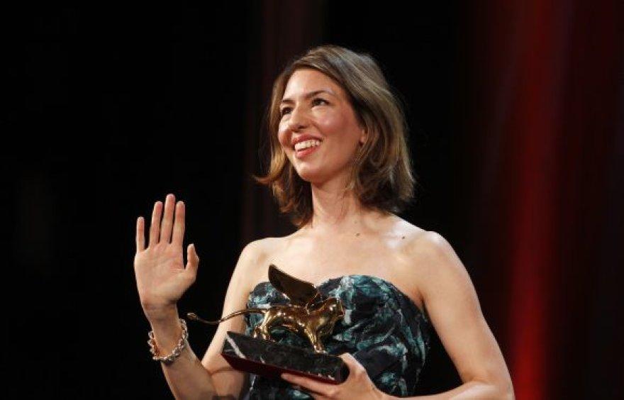 Sofia Coppola triumfavo Venecijos kino festivalyje.