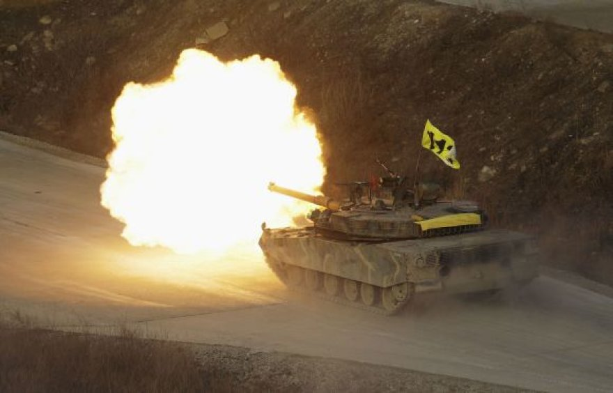 Pietų Korėjos kariniai apmokymai