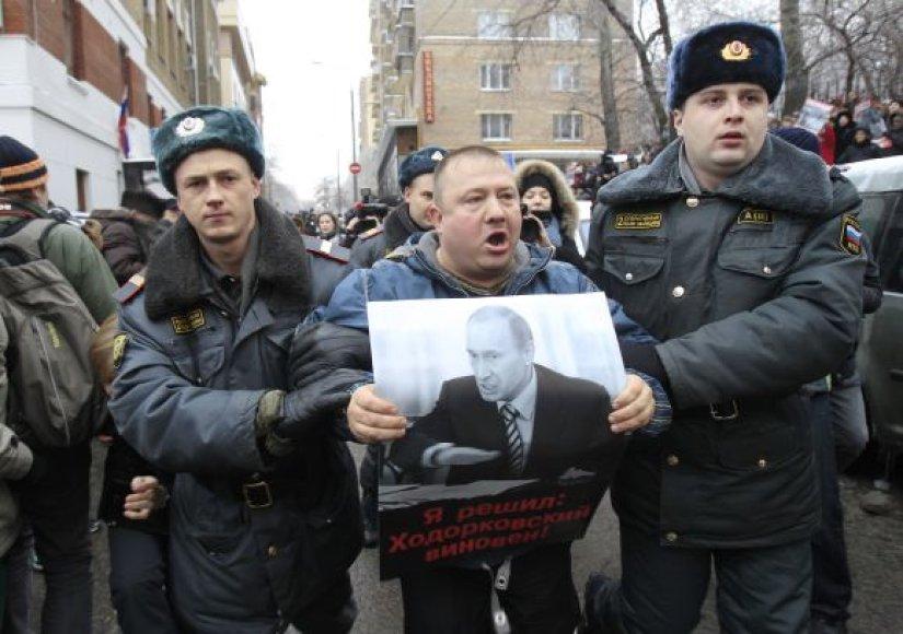 M.Chodorkovskio palaikymo mitingas
