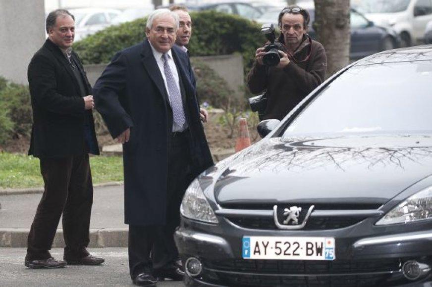 Frenchas Dominique Straussas-Kahnas, Tarptautinio Valiutos Fondo vadovas