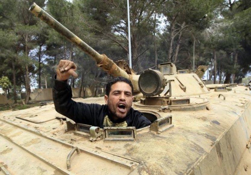 Libija, neramumai