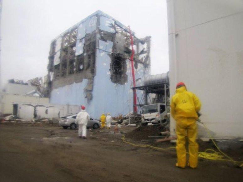 Elektrinės Fukušima-1 ketvirtasis reaktorius