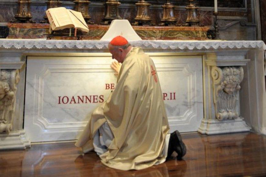 Popiežiaus Jono Paulius II amžino poilsio vieta