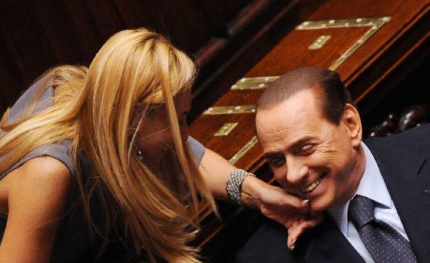Silvio Berlusconi Italijos parlamente