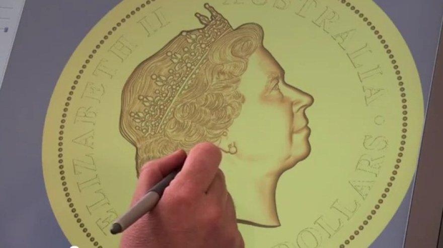 Didžiausia auksinė moneta, nukalta Australijoje