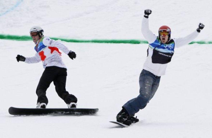 Olimpinis čempionas Sethas Wescottas