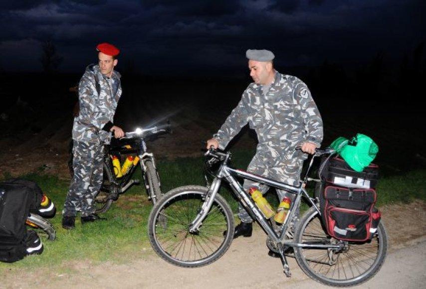 Rasti pagrobtų estų dviračiai Libane
