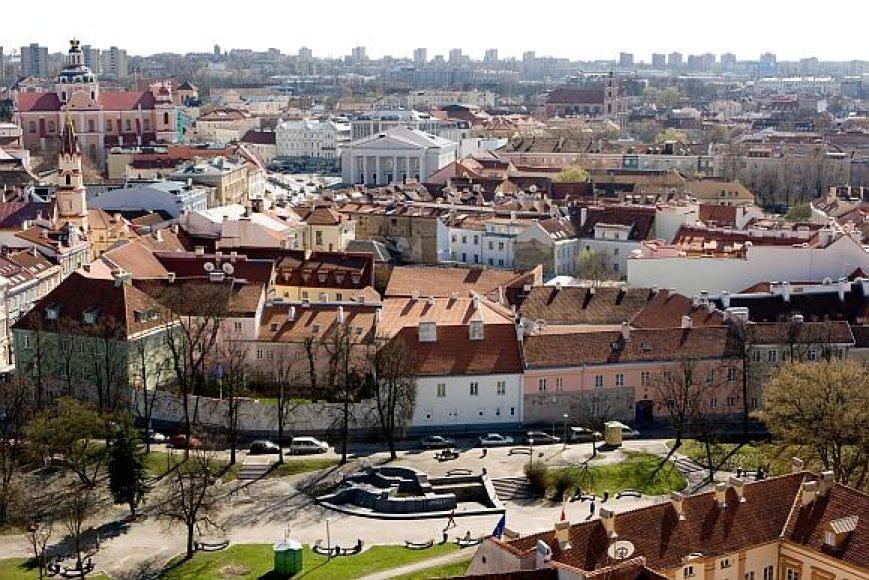 Baltarusiai viliojami įsigyti būstą Vilniaus senamiestyje.