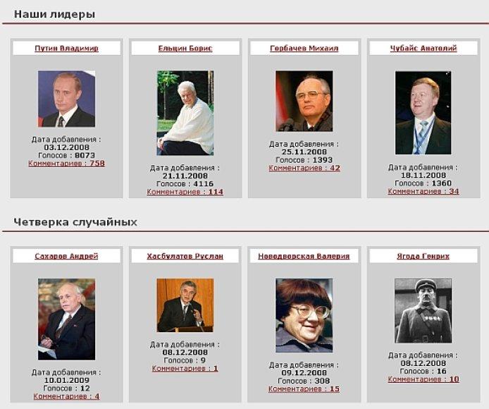 """Neabejotinu """"Rusijos gėdos"""" rinkimų lyderiu iki pabaigos buvo dabartinis premjeras Vladimiras Putinas."""