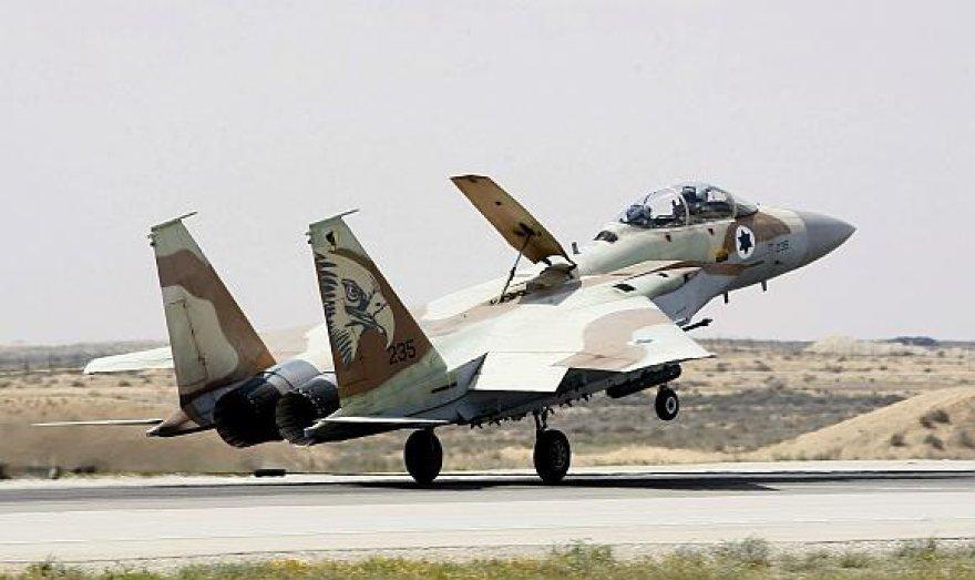 "Izraelio naikintuvas ""F–15I"""