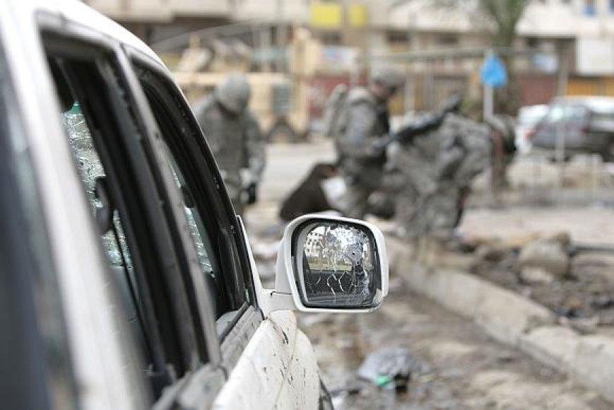 Po teroro akto Irake