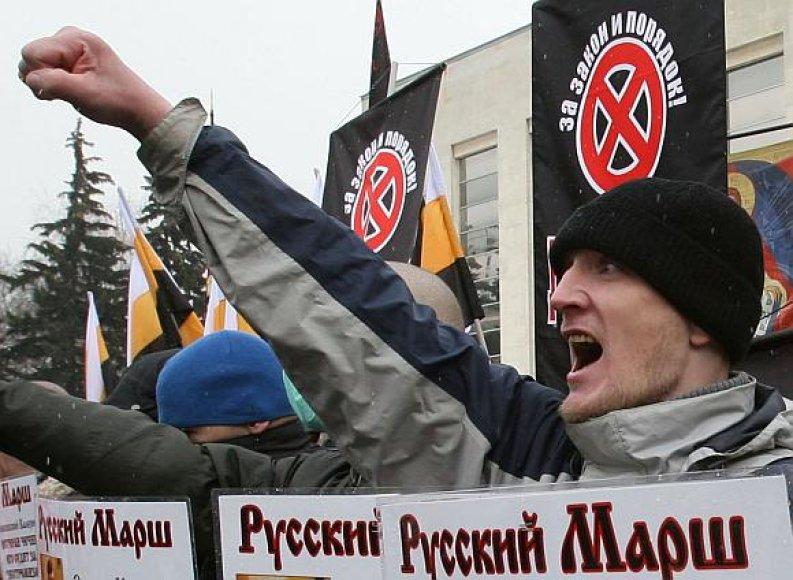 Rusijoje veikia apie 200 ekstremistinių organizacijų.
