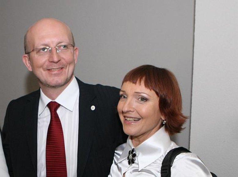 Arūnas Valinskas ir Asta Baukutė