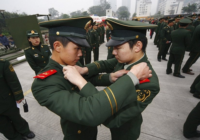 Kinijos policininkai