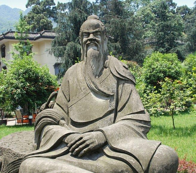 Konfucijaus skulptūra