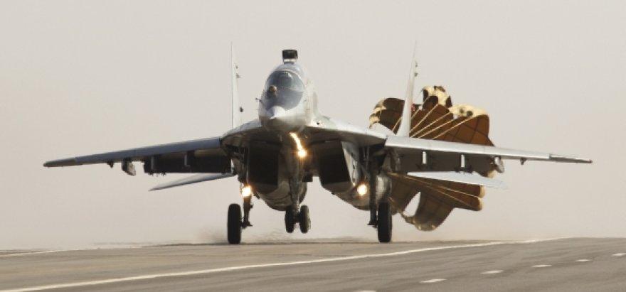 """Baltarusijos karinių oro pajėgų naikintuvas """"MiG-29"""""""
