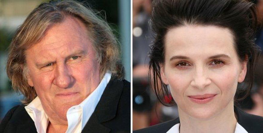 Gerardas Depardieu ir Juliette Binoche
