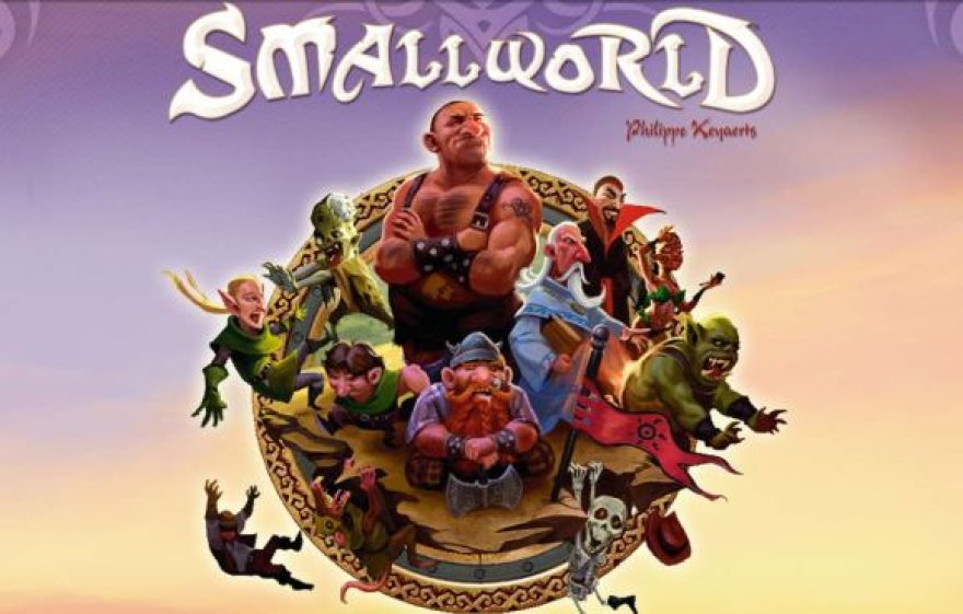 """Žaidimas """"Small World"""""""