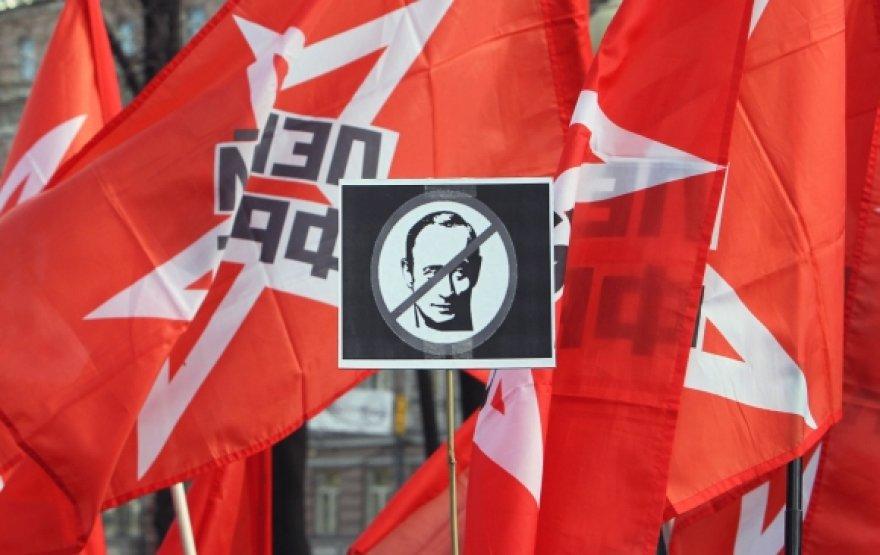 Opozicijos mitingas Maskvoje
