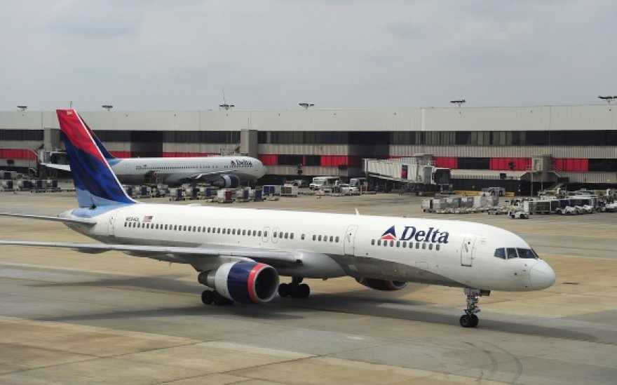 """Delta Airlines"" lėktuvai"