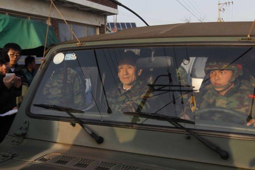 Naujasis Pietų Korėjos gynybos ministras Kim Kwan-jinas
