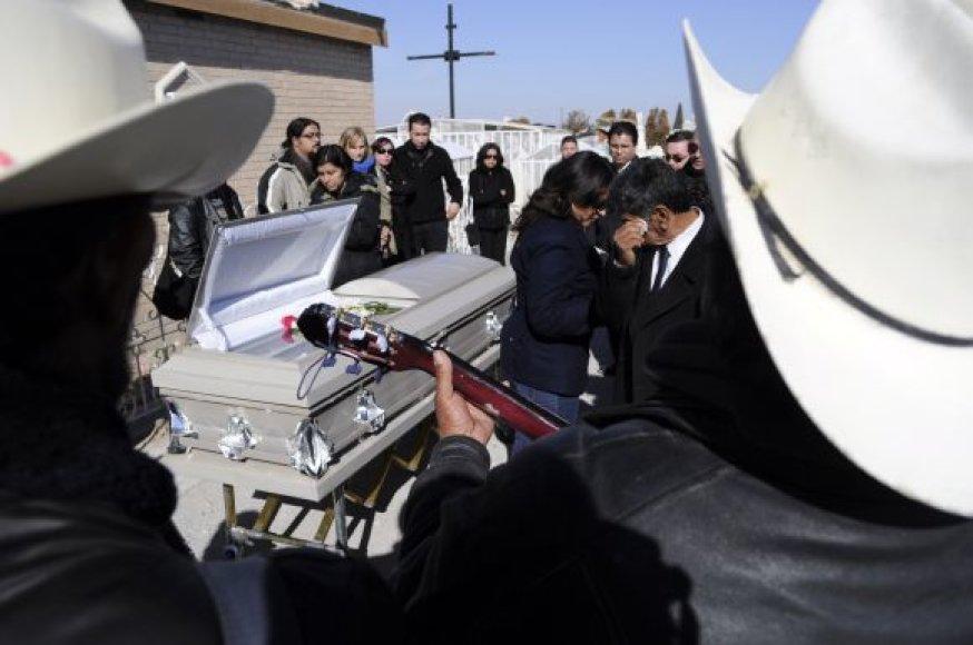 Susanos Chavez laidotuvės