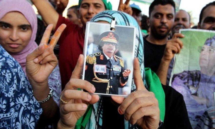 Muamaro Kadhafi rėmėjai